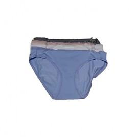 ELLEN TRACY Women's 4 Pack Infinite Stretch Bikini Panty