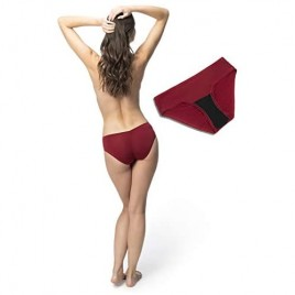 Ruched Back Hipster Panties with Black Gusset