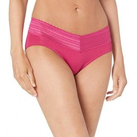 Warner's Women's No Pinching No Problems Lace Hipster-Panty