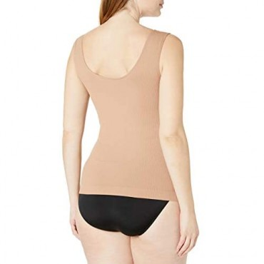 Instant Shaping Women's Seamless Santoni Shaper Camisole with Underwire Molded Cups