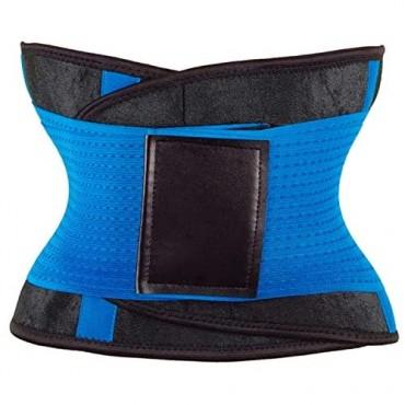 Amuoc Waist Trainer Belt for Women - Waist Cincher Trimmer - Slimming Body Shaper Belt - Sport Girdle Belt (UP Graded)