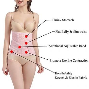 CHUMUYING Shapewear Waist Cinchers Workout Belt Tummy Control Sports Girdle Postpartum Waist Belt