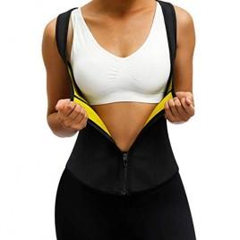 MASS21 Shapewear Vest for Women Neoprene Shapewear Vest Sauna Waist Shaper