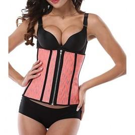 Waist Cincher Two Zip Corset Tummy Belt Trainer Body Shaper Women waist shapewear.
