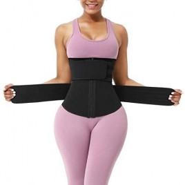 Women Neoprene Waist Trainer Cincher Sauna Corset Belt Weight Loss Trimmer Plus Size Body Shaper
