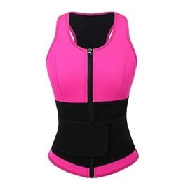 Wonder-Beauty Neoprene Waist Trainer Sauna Vest for Women Workout Sport Girdle