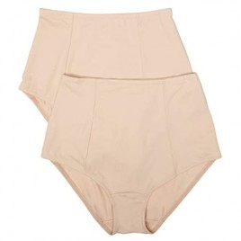 Company Ellen Tracy Intimates Women's Classic Comfort Brief with Extra Tummy Hold (Pack of 2)