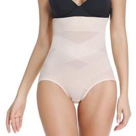 High Waist Shapewear Panties for Women Tummy Control Underwear Panty Girdle Body Shaper
