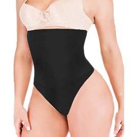 Women Shapewear Tummy Waist Control Shapewear High Waist Thong Panties Body Shaper Slimmer Faja