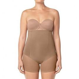 Leonisa Women's Truly Invisible Hi-Waist Control Short