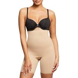 Montelle Women's Thigh Shapewear Plus Size Firm Tummy Control High Waist Shaper Slimmer for Women