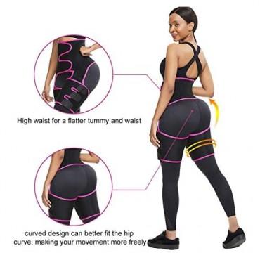 VISECO High Waist Trainer for Women Waist Butt Lifter Shapewear Weight Loss Weight