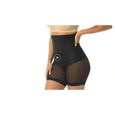 WOWENY High Waist Shapewear Shorts for Women Tummy Control Hi Thigh Slimmer Plus Size Seamless Butt Lift