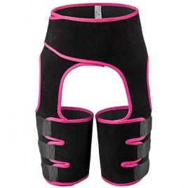 Xergur Everyday Shaping Neoprene Thigh Shaper - Purple High Waist Ultra Light Thigh Trimmer