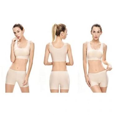 SlimFree Women's Comfortable Shapewear Seamless Smooth Slip Short Panty for Under Dresses