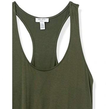 Brand - Mae Women's Loungewear Racerback Tank Top