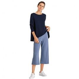 HANRO Women's Pure Comfort Long Sleeve Shirt