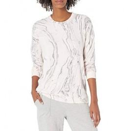 PJ Salvage Women's Loungewear Marvelous Marble Long Sleeve Top