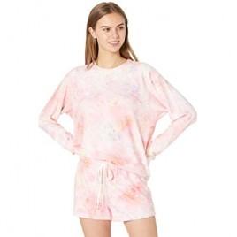 PJ Salvage Women's Loungewear Melting Crayons Long Sleeve Top
