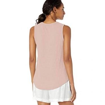 PJ Salvage Women's Loungewear Thermal Basics Tank Top