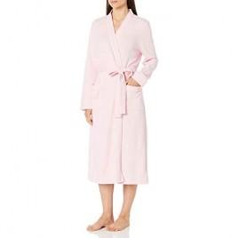 Essentials Women's Lightweight Waffle Full-Length Robe