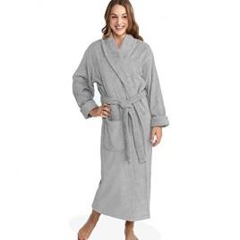 Parador Women's Terry Bathrobe 100% Combed Pure Turkish Cotton Terry Robe