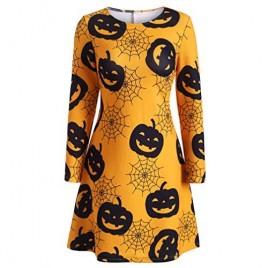 Jaaytct Halloween Dress Yellow