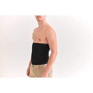 CHARM Unisex Thermal Stomach Wrap Haramaki - Belly Warmer Mens Womens Maternity Belt