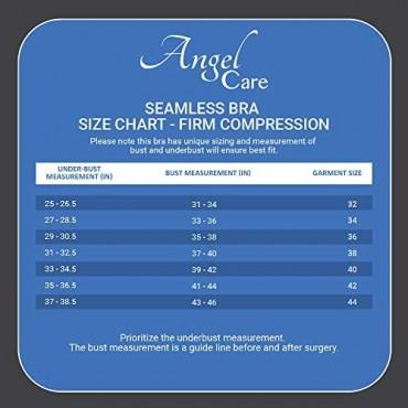 Angel Care Compression Post-Operative Bra with Adjustable Straps