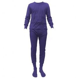 Men's 100% Cotton Thermal Underwear  2-Piece Set