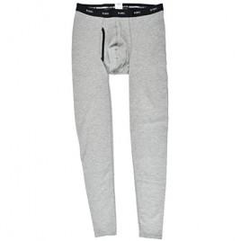 MSPEC Men's 3D-Crotch Kishu-BINCHOTAN Fiber Momohiki Thermal Long Pants