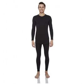 Rocky Thermal Underwear for Men Fleece Lined Thermals Men's Base Layer Long John Set