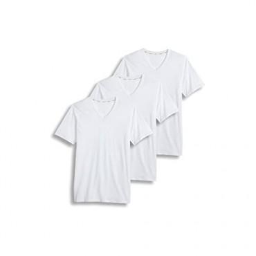 Jockey Men's T-Shirts Staycool V-Neck T-Shirt - 3 Pack