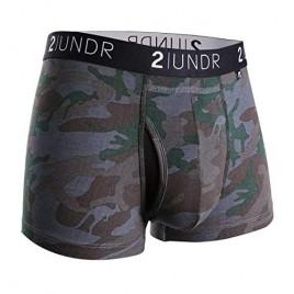 2UNDR Mens Swing Shift 3 Boxer Trunk Underwear