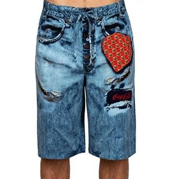 Coca-Cola Men's Print Pajama Boxer Shorts