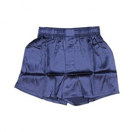 Intimo Mens Solid Color Quality Silk Boxers