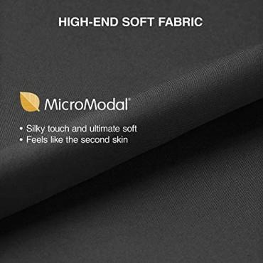 Separatec Men's 3 Pack Micro Modal Separate Pouches Comfort Fit Boxer Briefs