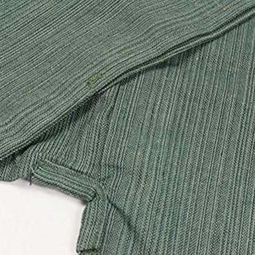 KYOETSU Men's Japanese Yukata Spa Robe Set (Yukata/Haori/OBI/String)