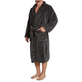 Nautica Men's Marled Plush Knit Robe