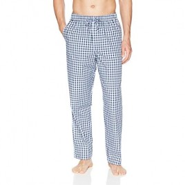 Essentials Men's Straight-Fit Woven Pajama Pant