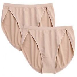 DANSHOW Women and Girls Professional Dance Ballet Briefs Adult Gymnastics High Cut Underwear(Two Pieces)