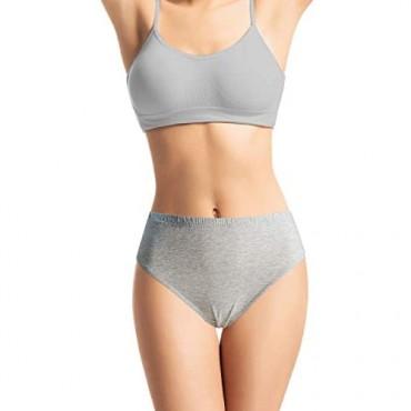 FROLADA Women's Underwear Cotton Bikini Panties Soft Breathable Panty 5 Pack