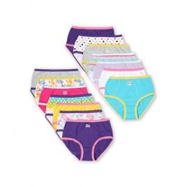 Purple Prints Assorted 14 Pack Briefs Panties