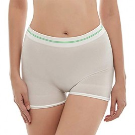 Mesh Panties for Women 6-Pack Disposable Seamless C-Section Recovery Anti-Chafing Mesh Postpartum Underwear (L/XL) White