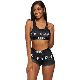 PSD Underwear Women's Boy Short   Wide Band Stretch Fabric Athletic Fit  